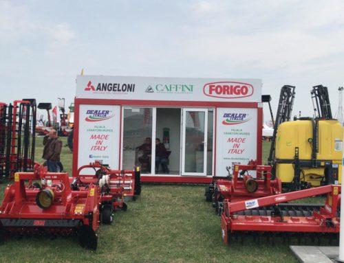 Dealer Italia prezintă tehnică de top și la Agriplanta-Romagrotec 2019